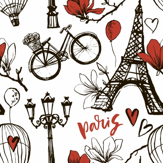 Постер (плакат) Париж