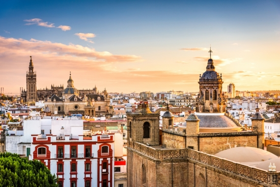 Постер на подрамнике Небо Испании