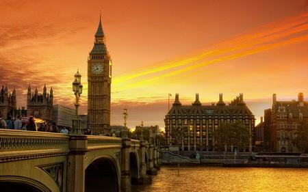 Постер (плакат) Вечерний Лондон