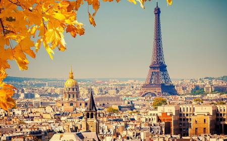 Постер (плакат) Осень в Париже