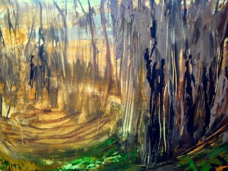 Картина Тонкий мир (Абстракция)