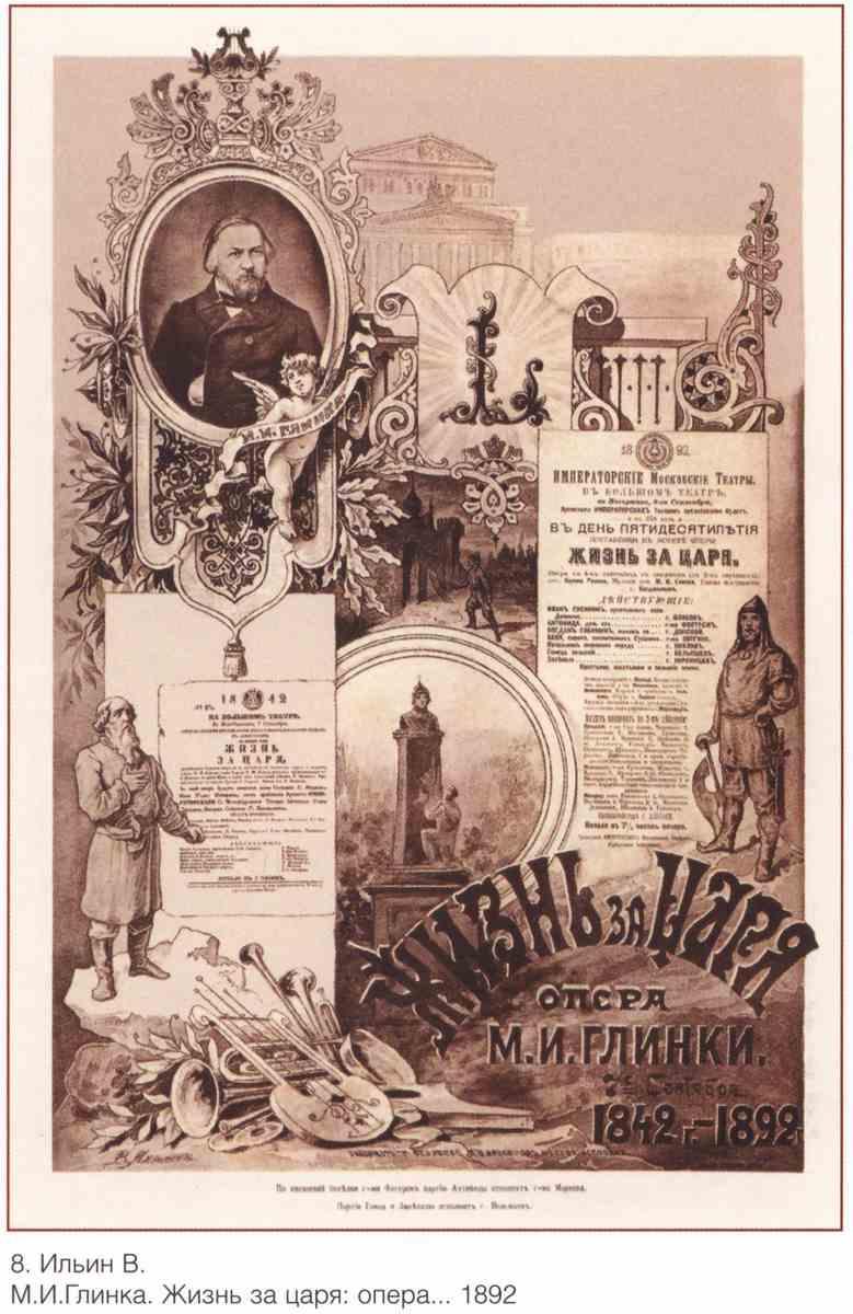 Постер на подрамнике Плакаты царской России_0008