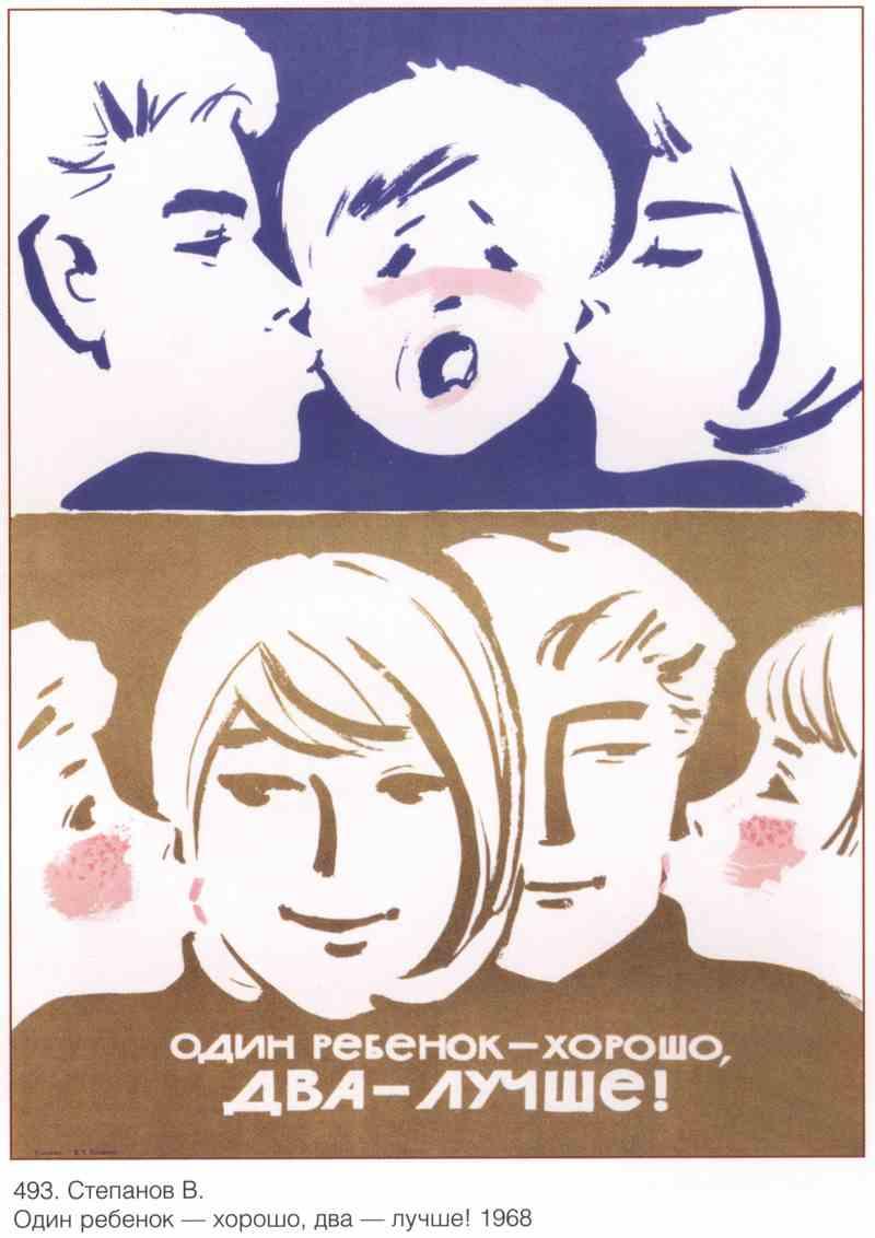 Плакат Семья и дети|СССР_00048