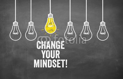 Постер на подрамнике Измени свое мышление