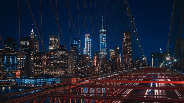 Постер на подрамнике Бруклинский мост