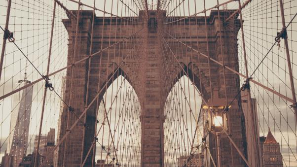 Постер (плакат) Мост в Бруклине