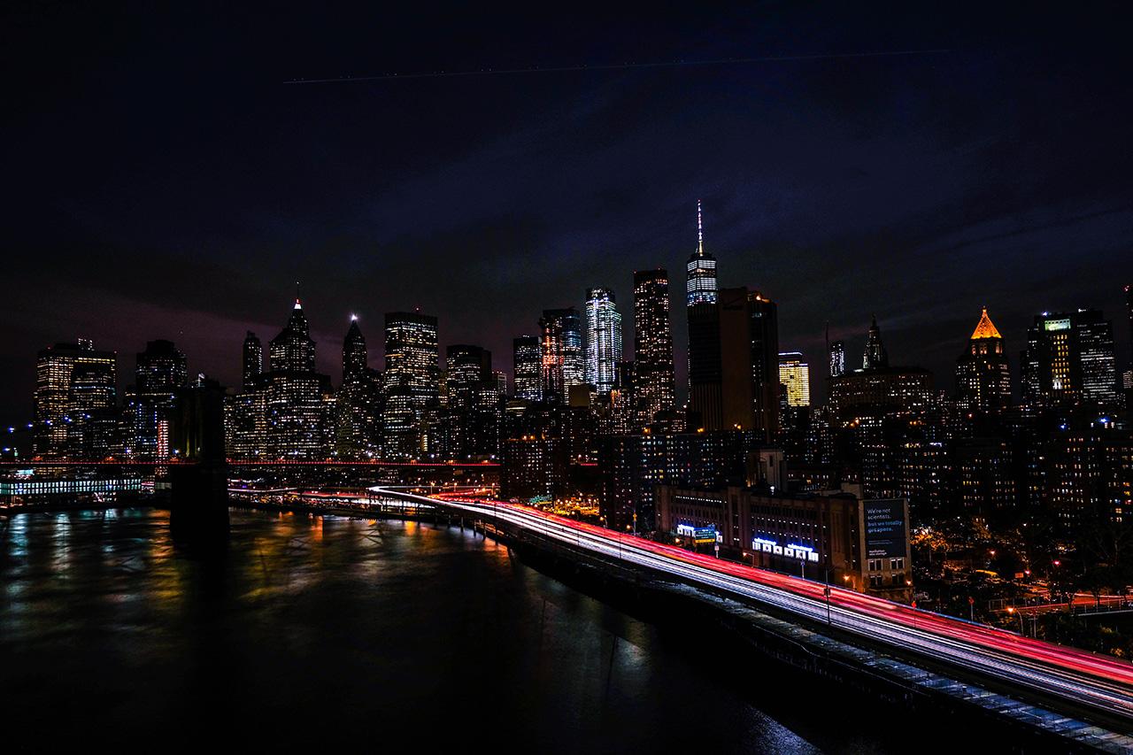 Постер (плакат) Ночной Нью-Йорк