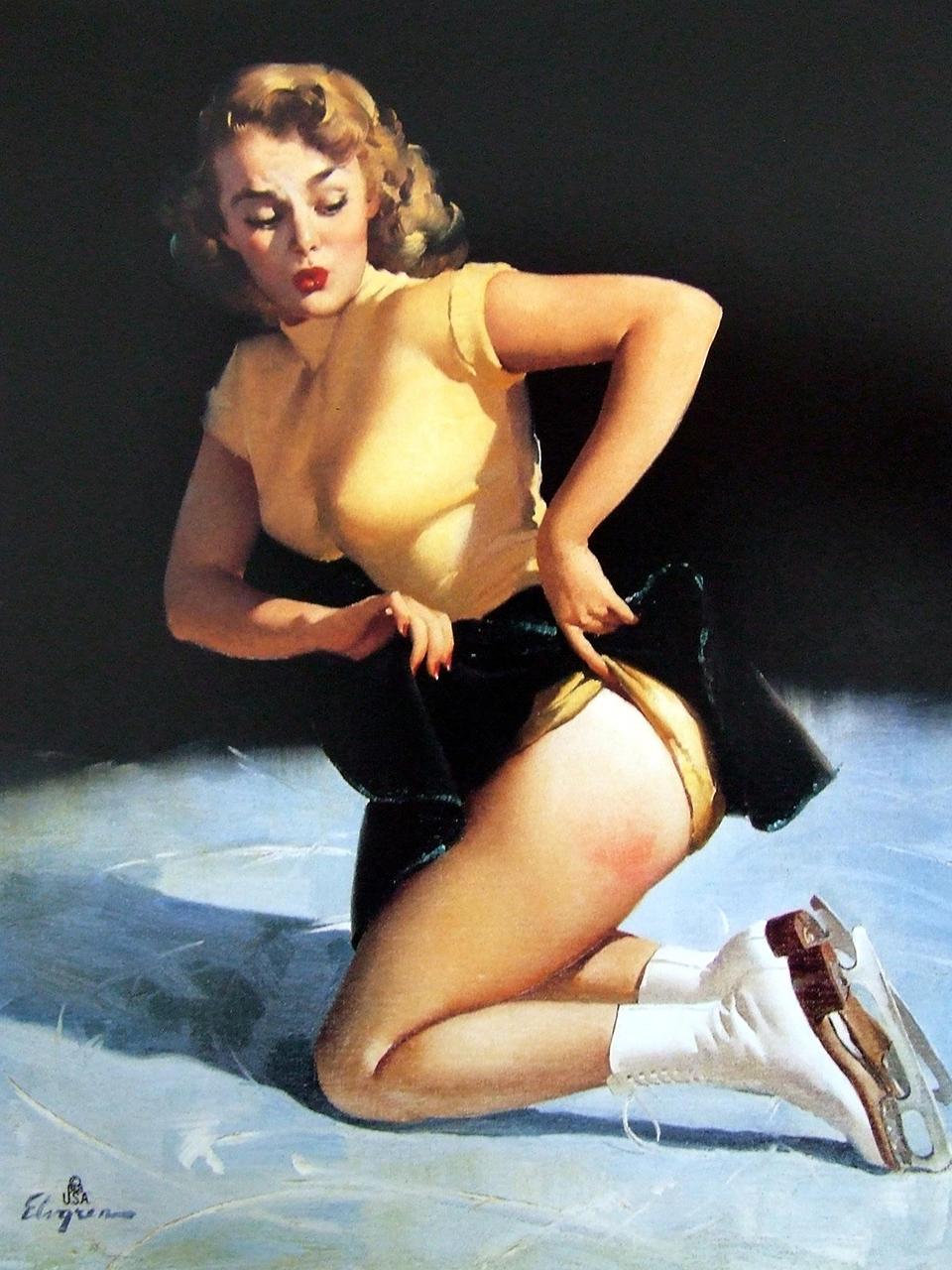 Постер на подрамнике Джил Элвгрен: A cute injury