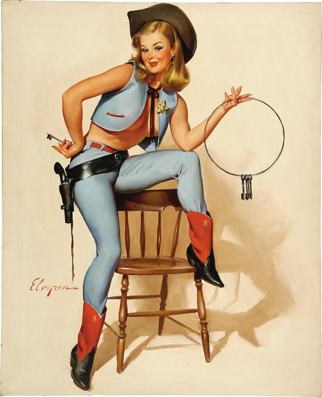 Постер на подрамнике Джил Элвгрен: A key situation