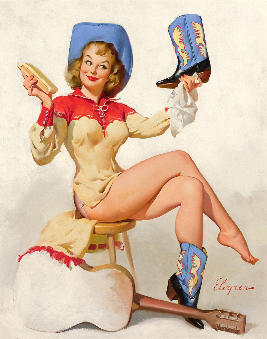 Постер (плакат) Джил Элвгрен: A polished performance