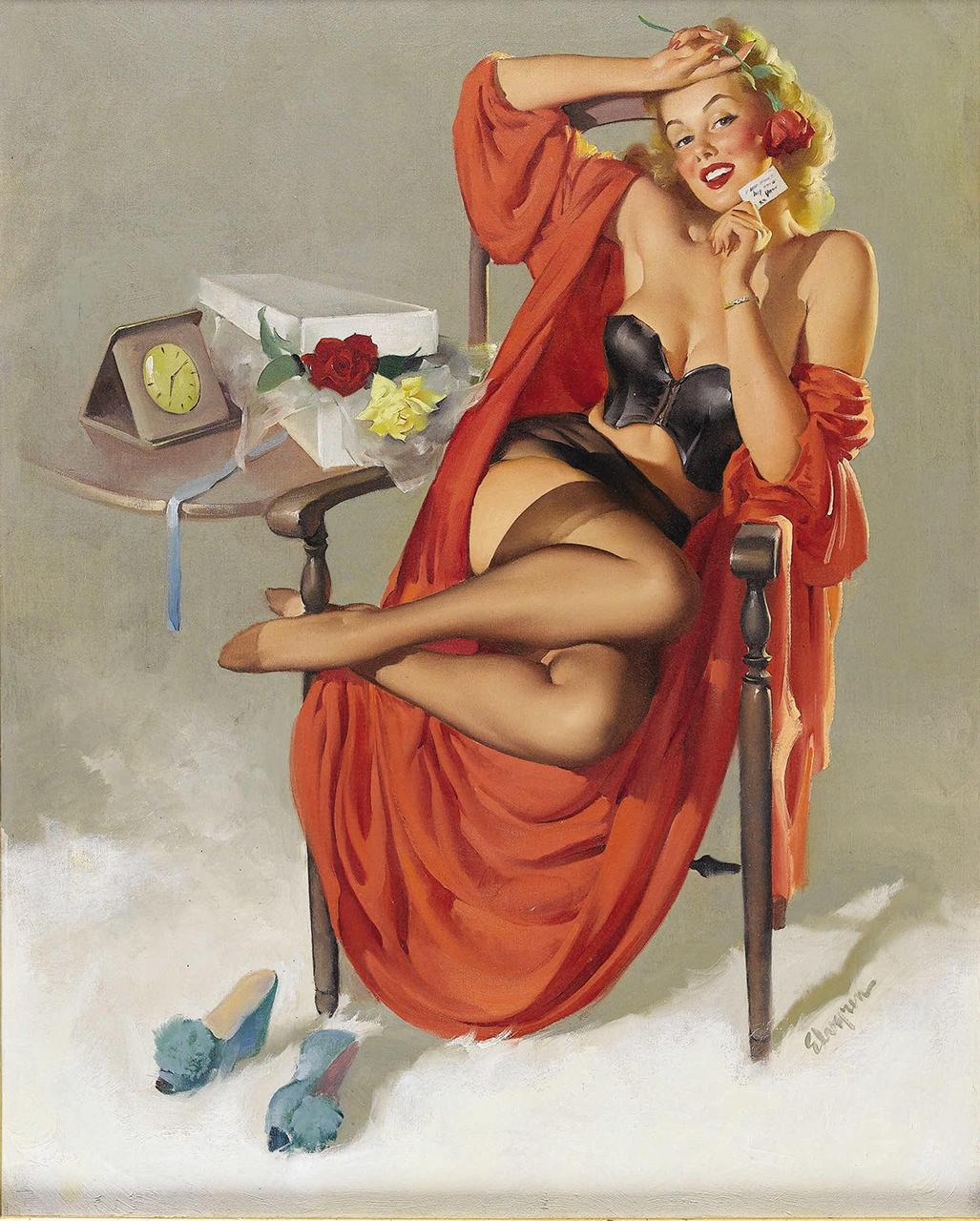 Постер (плакат) Джил Элвгрен: American beauties