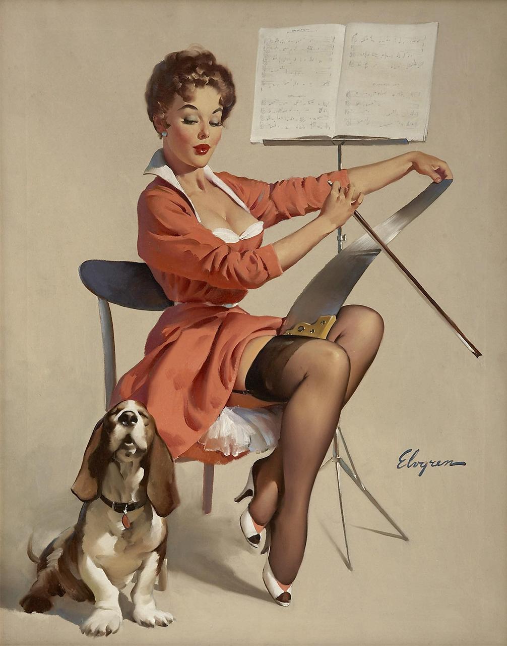 Постер (плакат) Джил Элвгрен: Doggone good