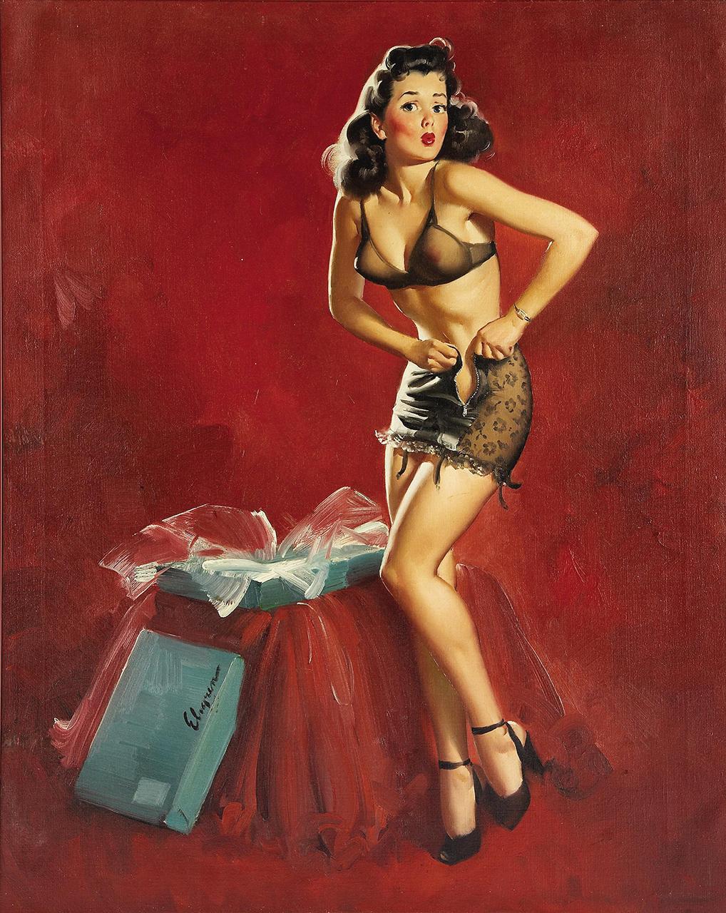 Постер (плакат) Джил Элвгрен: I must be going to waist