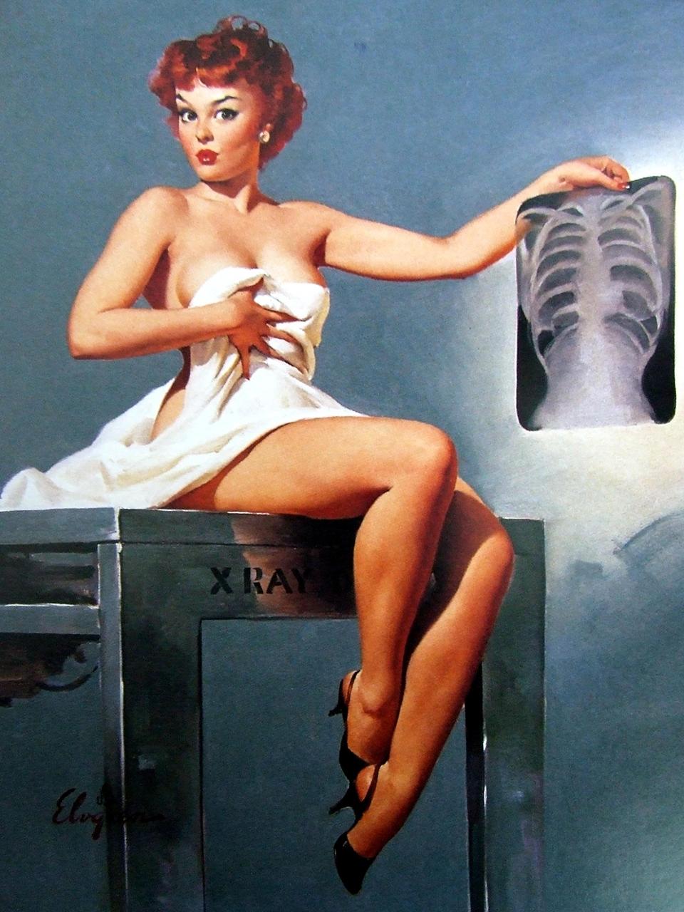 Постер на подрамнике Джил Элвгрен: Inside story