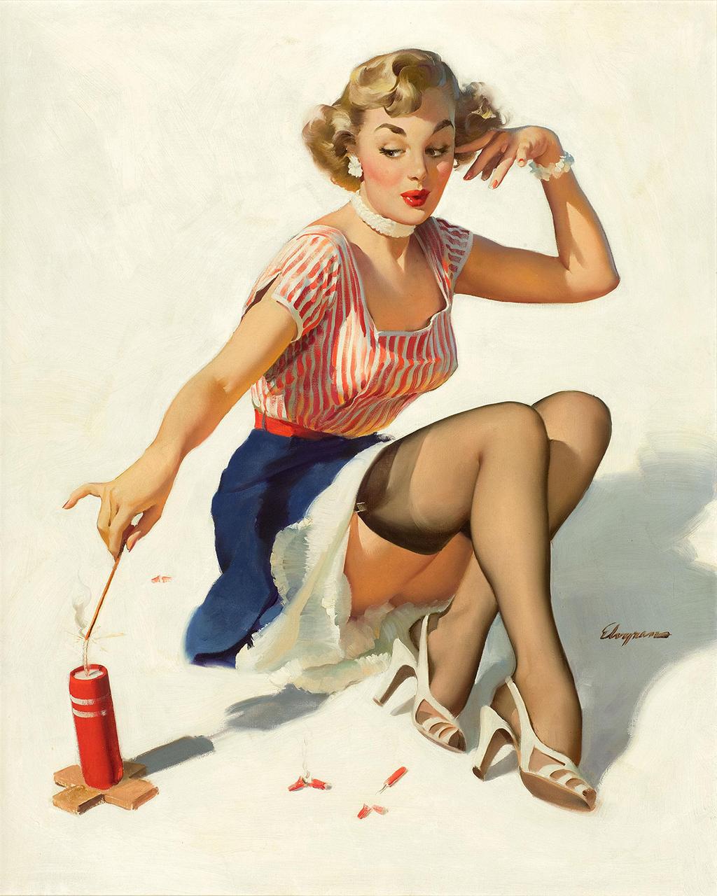Постер на подрамнике Джил Элвгрен: Looking for trouble