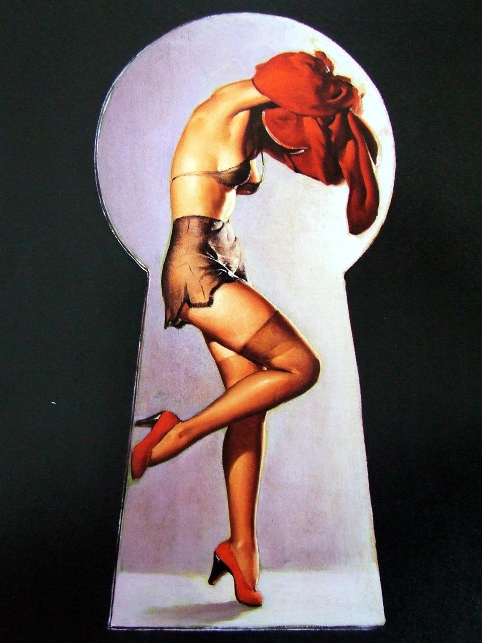 Постер на подрамнике Джил Элвгрен: Peek a view