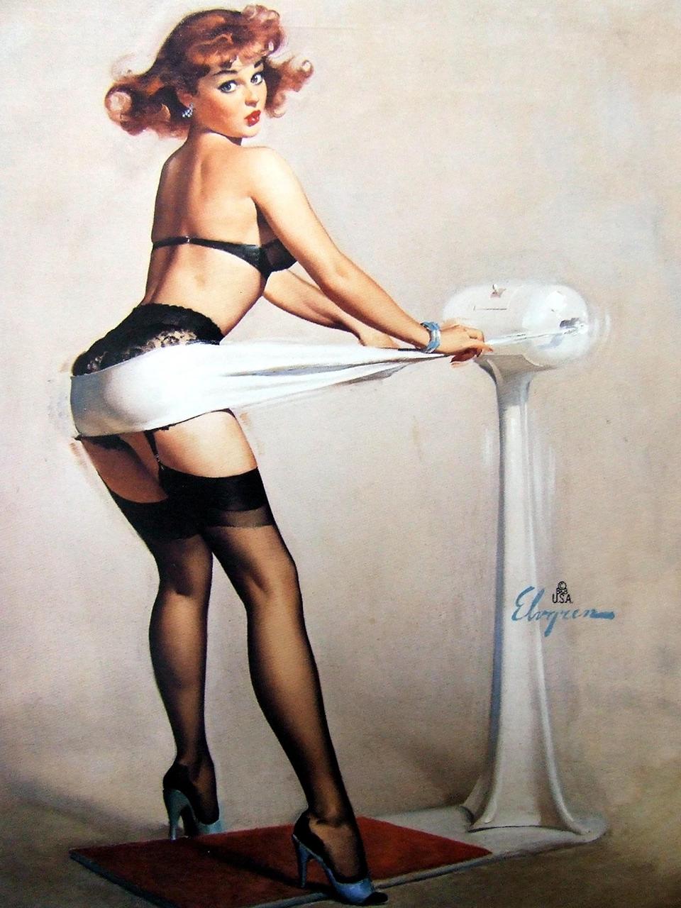 Постер на подрамнике Джил Элвгрен: Weighty problem