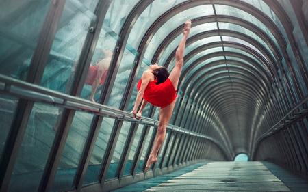 Постер на подрамнике Балерина