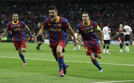 Постер (плакат) Футболисты Барселоны