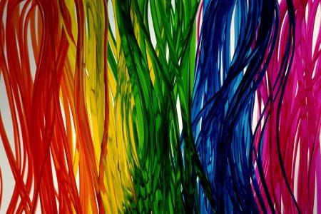 Лайтбокс Абстракция цветная