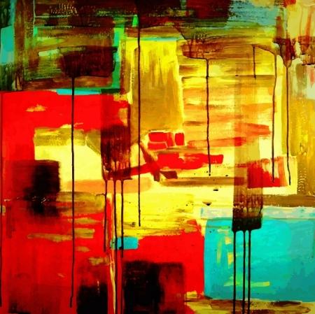 Модульная картина Арт абстракция