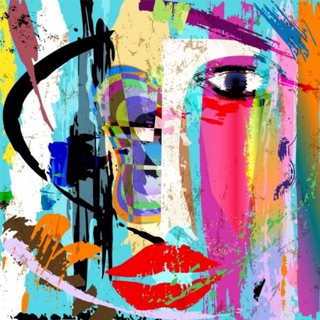 Плакат Абстракция (арт)