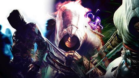 Постер на подрамнике assassins creed, arm, graphics