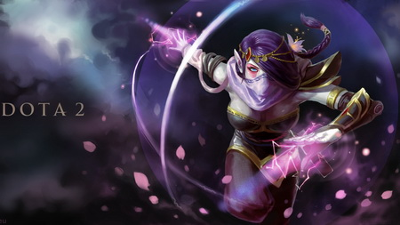 Плакат templar assassin, dota, art