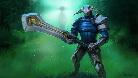 Плакат sven, rogue knight, dota 2