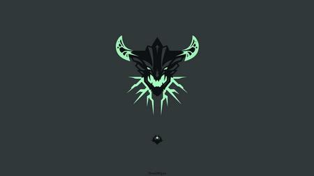 Плакат outworld destroyer, dota 2, art