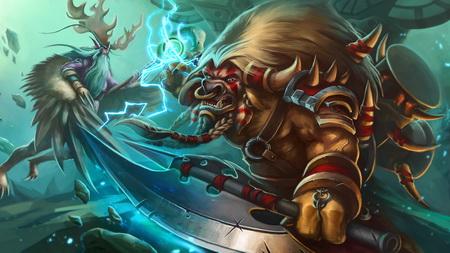 Постер на подрамнике heroes of the storm, malfurion, archdruid