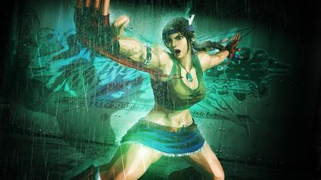 Постер на подрамнике street fighter x tekken, girl, hands