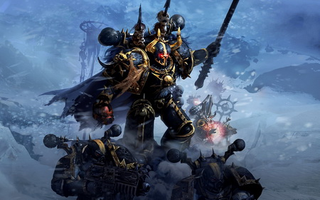 Постер на подрамнике Warhammer