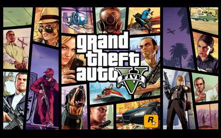 Постер на подрамнике Grand Theft Auto V