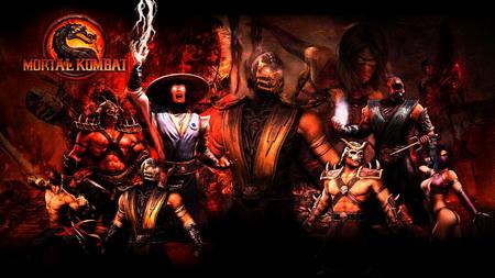 Постер на подрамнике Mortal Kombat