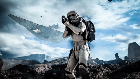 Постер на подрамнике Star Wars Battlefront