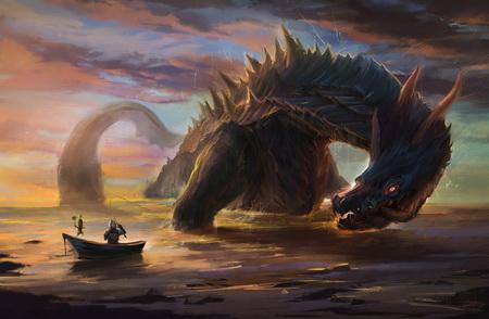 Плакат Monster Hunter