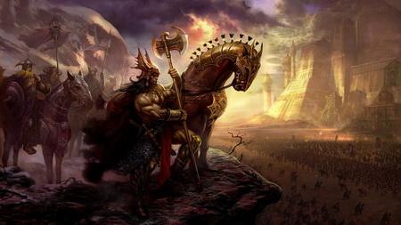 Постер на подрамнике Age Of Conan