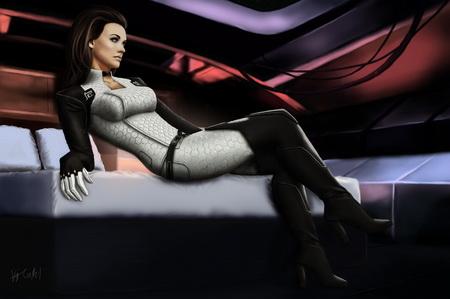 Плакат Mass Effect 2