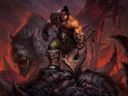 Постер на подрамнике World Of Warcraft: Warlords Of Draenor