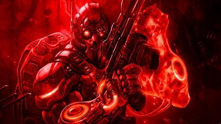 Плакат Starcraft II