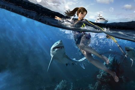 Постер на подрамнике Tomb Raider: Underworld