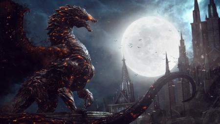 Постер на подрамнике Castlevania: Lords Of Shadow 2