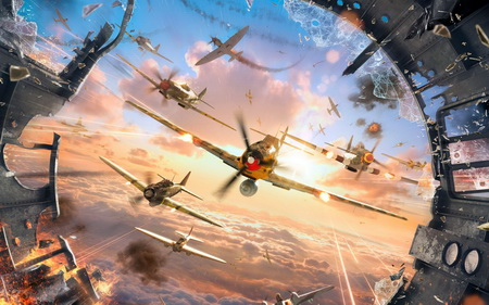 Постер на подрамнике World Of Warplanes