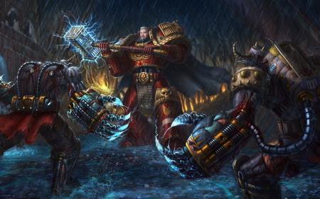 Постер на подрамнике Warhammer 40K
