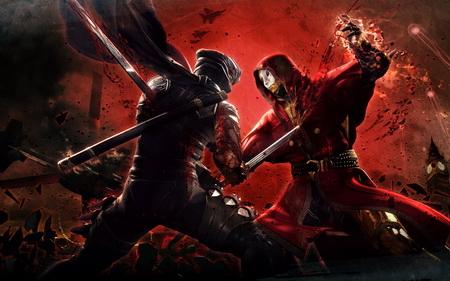 Постер на подрамнике Ninja Gaiden