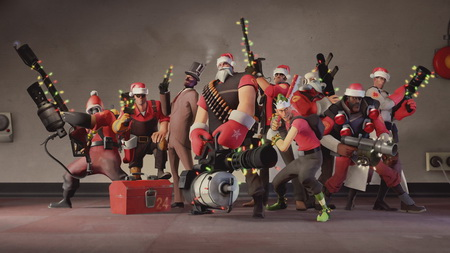 Плакат Team Fortress 2
