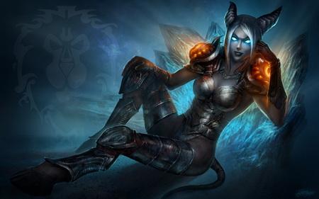 Постер на подрамнике World Of Warcraft
