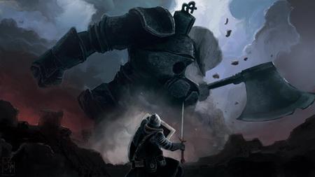 Постер на подрамнике Dark Souls