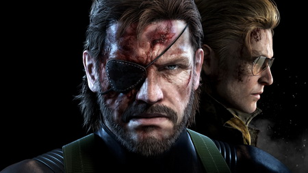 Плакат Metal Gear Solid V: The Phantom Pain